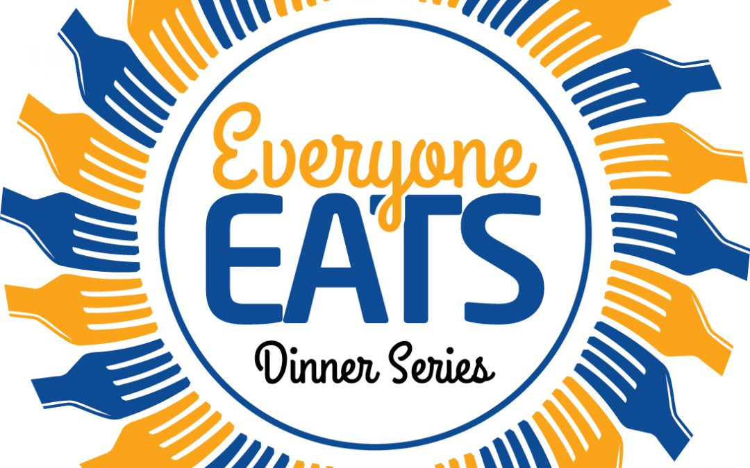 Everyone Eats Dinner Series kicks off tomorrow evening, Wednesday October 20th !